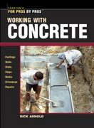 Working with Concrete 0 9781561586141 1561586145