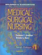 Brunner and Suddarth's Textbook of Medical-Surgical Nursing 9th edition 9780781715751 078171575X