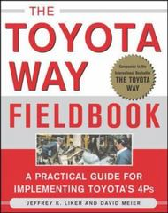 The Toyota Way Fieldbook 1st Edition 9780071448932 0071448934