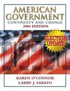 American Government 2004 7th edition 9780321276278 0321276272