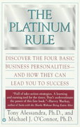 The Platinum Rule 1st Edition 9780446673433 0446673439