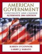American Government 2004 6th edition 9780321194732 032119473X