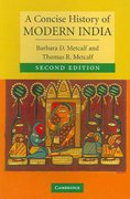 A Concise History of Modern India 2nd edition 9780521682251 0521682258