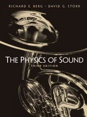 The Physics of Sound 3rd edition 9780131457898 0131457896