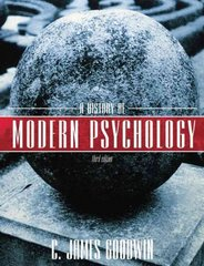 A History of Modern Psychology 3rd Edition 9780470129128 0470129123