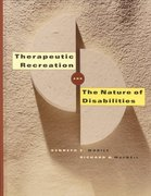 Therapeutic Recreation and the Nature of Disabilities 1st Edition 9781892132222 1892132222