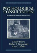 Psychological Consultation 5th Edition 9780205322107 0205322107