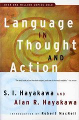 Language in Thought and Action 5th edition 9780156482400 0156482401