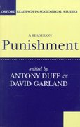 A Reader on Punishment 1st Edition 9780198763536 0198763530