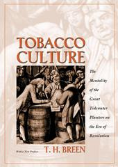 Tobacco Culture 1st Edition 9780691089140 0691089140