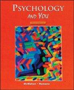 Psychology and You, Student Edition 1st Edition 9780314140906 0314140905