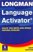Longman Language Activator 2nd edition 9780582419520 0582419522