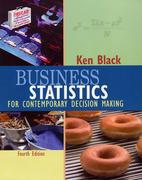 Business Statistics 4th edition 9780471429838 047142983X