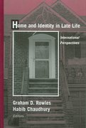 Home and Identity in Late Life 1st Edition 9780826127167 0826127169