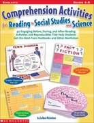 Comprehension Activities for Reading in Social Studies and Science 0 9780439098380 0439098386