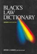 Black's Law Dictionary 8th edition 9780314158635 0314158634
