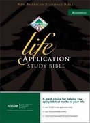 NASB Life Application Study Bible 0 9780310916413 0310916410