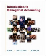 Introduction to Managerial Accounting Package 1st edition 9780072468441 0072468440