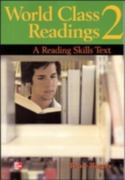World Class Readings 2 Student Book 1st edition 9780072825480 0072825480