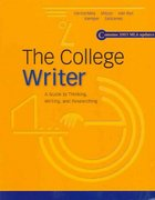 The College Writer 1st edition 9780618405411 0618405410