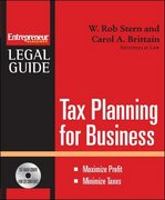 Tax Planning for Your Business 1st edition 9781599181370 1599181371
