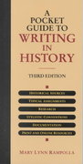 A Pocket Guide to Writing in History 3rd edition 9780312247669 0312247664