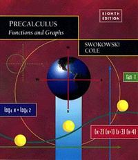 Precalculus 8th edition 9780534352639 0534352634