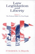 Law, Legislation and Liberty, Volume 3 0 9780226320908 0226320901