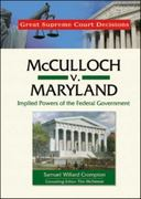 McCulloch V. Maryland 0 9780791092620 0791092623