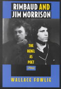 Rimbaud and Jim Morrison 1st Edition 9780822314455 0822314452
