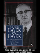 Hayek on Hayek 0 9781134965960 1134965966