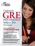 Cracking the GRE Psychology Subject Test, 8th Edition 8th Edition 9780375429736 0375429735