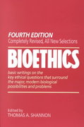 Bioethics 4th edition 9780809134441 0809134446