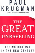 The Great Unraveling 1st edition 9780393058505 0393058506