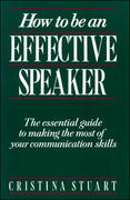 How To Be an Effective Speaker 1st Edition 9780844232805 0844232807