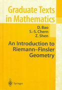 An Introduction to Riemann-Finsler Geometry 1st edition 9780387989488 038798948X