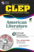 CLEP American Literature 1st Edition 9780738605593 073860559X