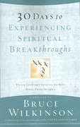 30 Days to Experiencing Spiritual Breakthroughs 0 9781590527726 1590527720