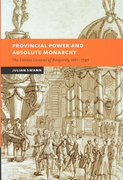 Provincial Power and Absolute Monarchy 0 9780521827676 0521827671