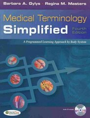 Medical Terminology Simplified 4th Edition 9780803620919 0803620918