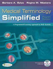 Medical Terminology Simplified 4th Edition 9780803623026 080362302X