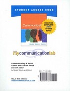 MyCommunicationLab with Pearson eText -- Standalone Access Card -- for Communicating 11th edition 9780205747627 0205747620