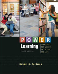P.O.W.E.R. Learning: Strategies for Success in College and Life 4th Edition 9780073522432 0073522430