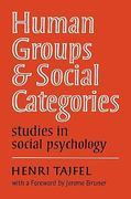 Human Groups and Social Categories 0 9780521280730 0521280737