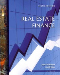 Real Estate Finance 9th Edition 9780324181425 0324181426