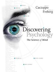 Discovering Psychology 1st edition 9781133707288 1133707289