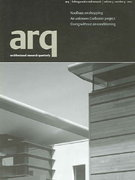 Architectural Research Quarterly 0 9780521002776 052100277X