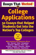 Essays that Worked for College Applications 0 9780345452177 0345452178