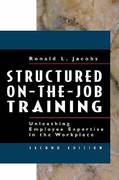 Structured On-the-Job Training 2nd edition 9781576752425 1576752429