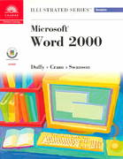 Microsoft Word 2000-Illustrated Complete 1st edition 9780760060681 0760060681